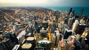 Topo da Willis Tower em Chicago