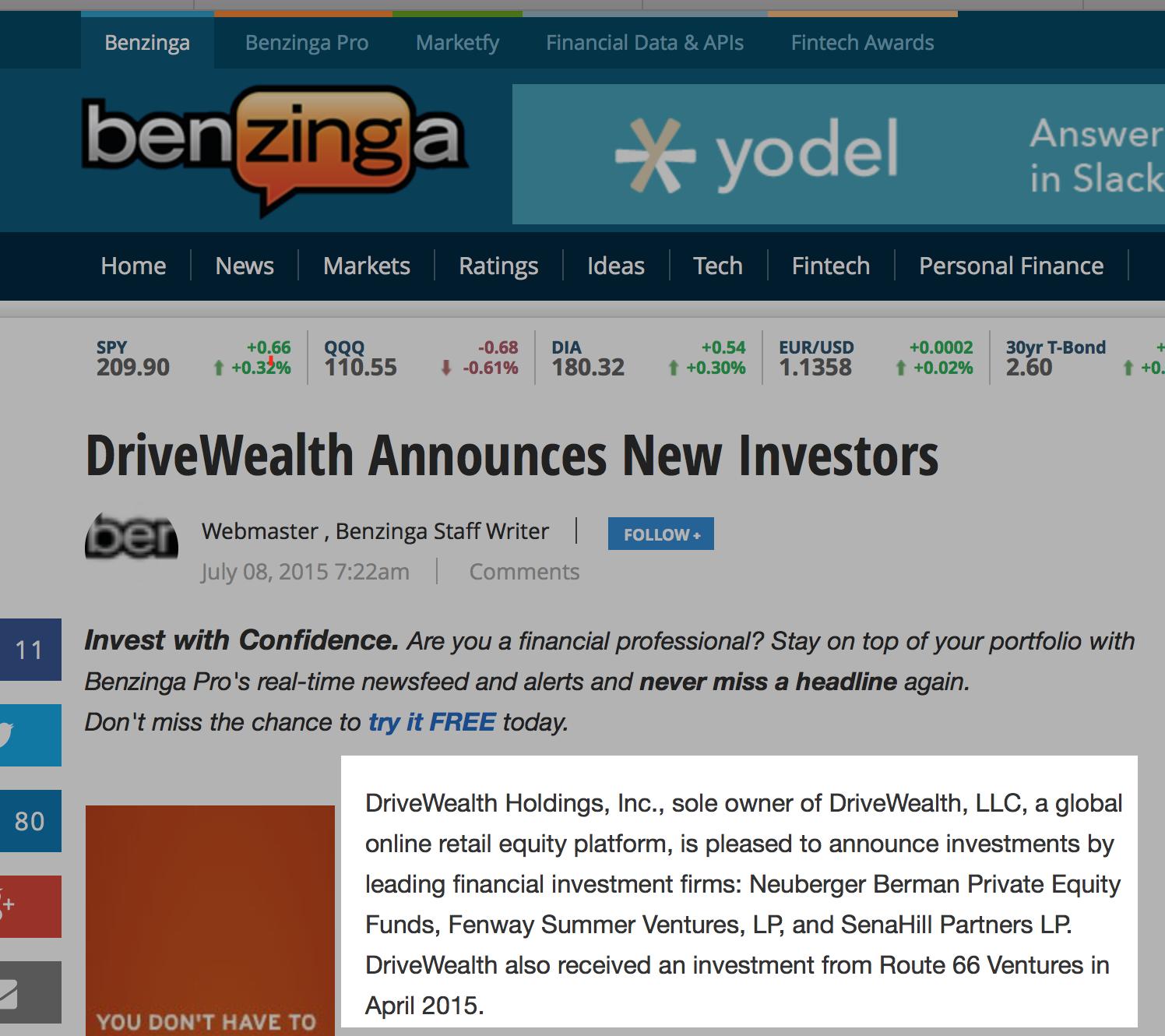 investor dw
