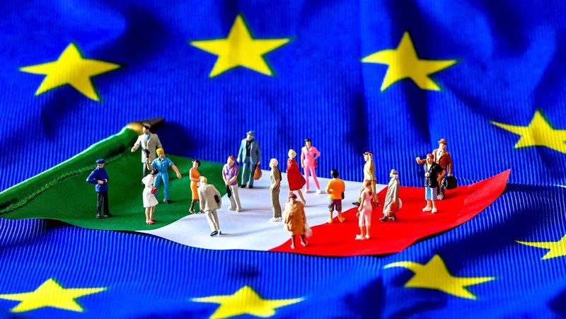 Italia e a zona do Euro