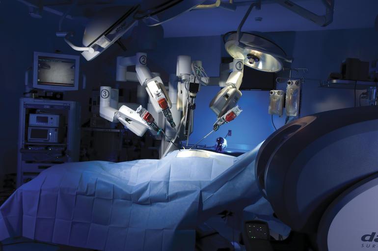 Será que esse robô dá um jeito na minha coluna :)