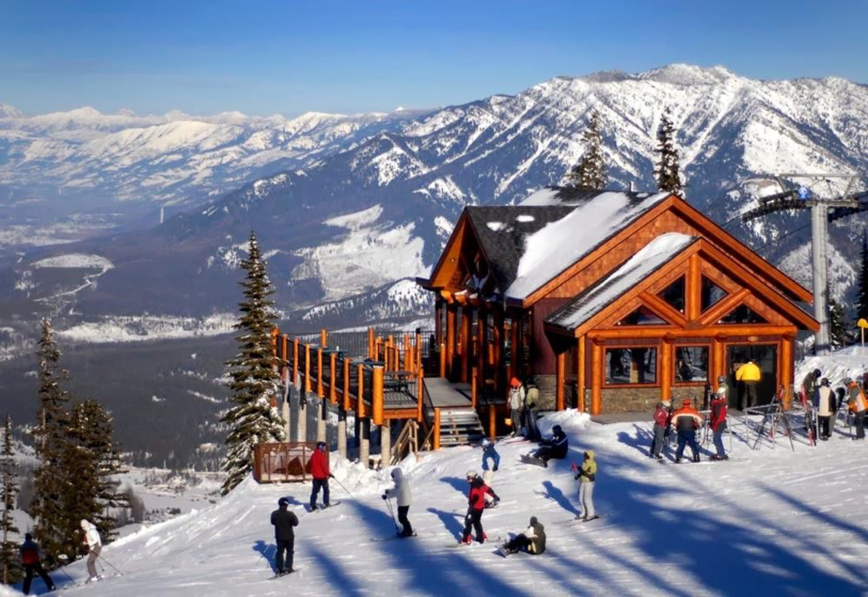 Comprei Estações de Ski na bolsa