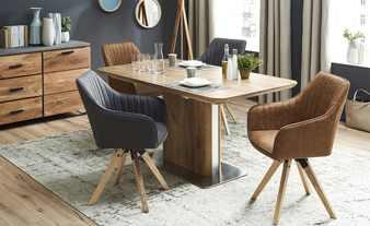 mesa de jantar na sala um exemplo da Höffner