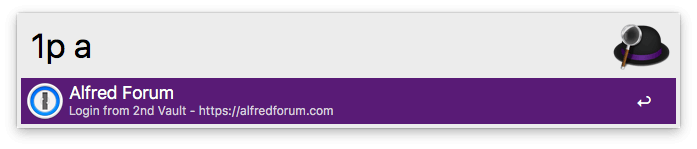 Alfred já abre o site com o login