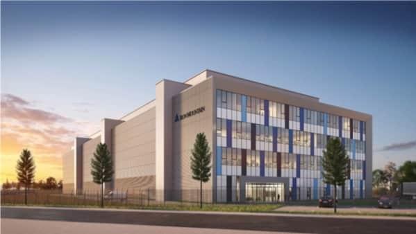 Começou a construção desse novo Data Center em Frankfurt