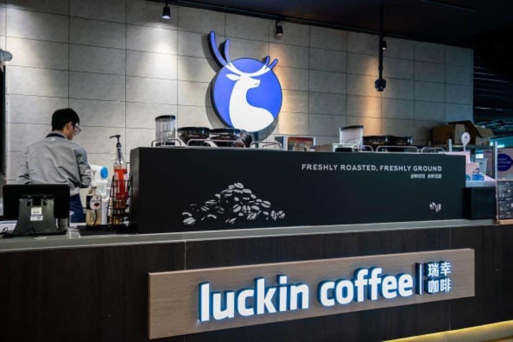 Loja da Luckin Coffee